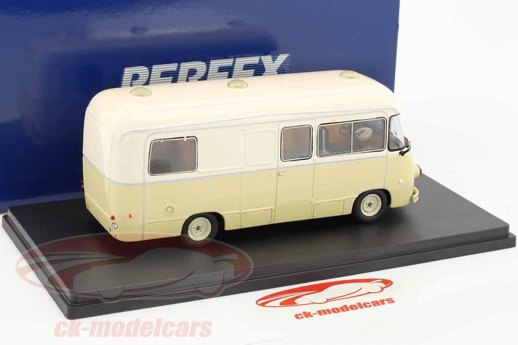Renault 1400 KG Camping Car Heuliez beige 1:43 Momaco