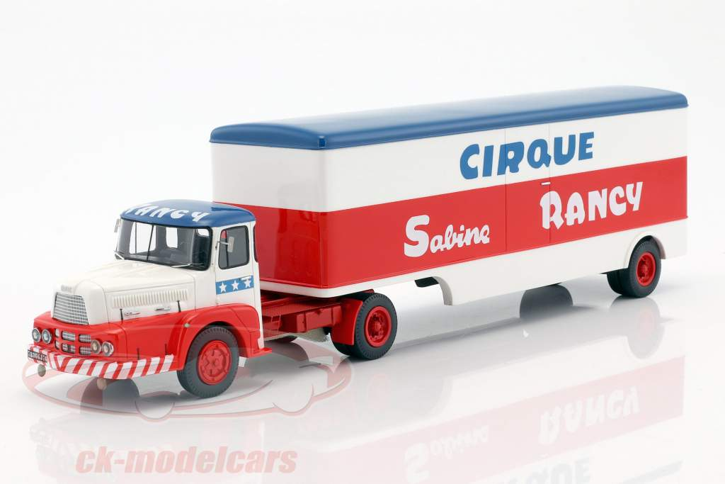 Unic Izoard Semi Remorque Materiel Sabine Rancy blue / white / red 1:43 Momaco