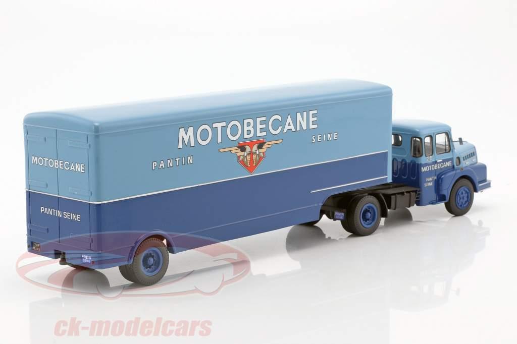 Unic Izoard Semi Remorque Motobecane blau 1:43 Momaco