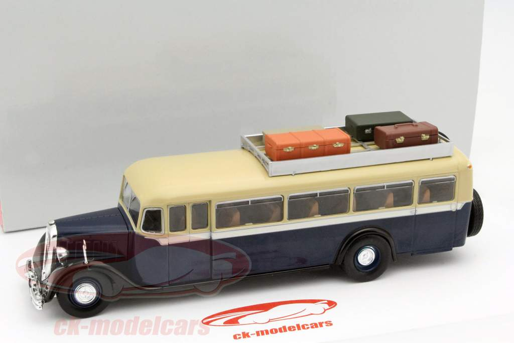 Citroen T45 dark blue / beige 2. choice 1:43 Altaya