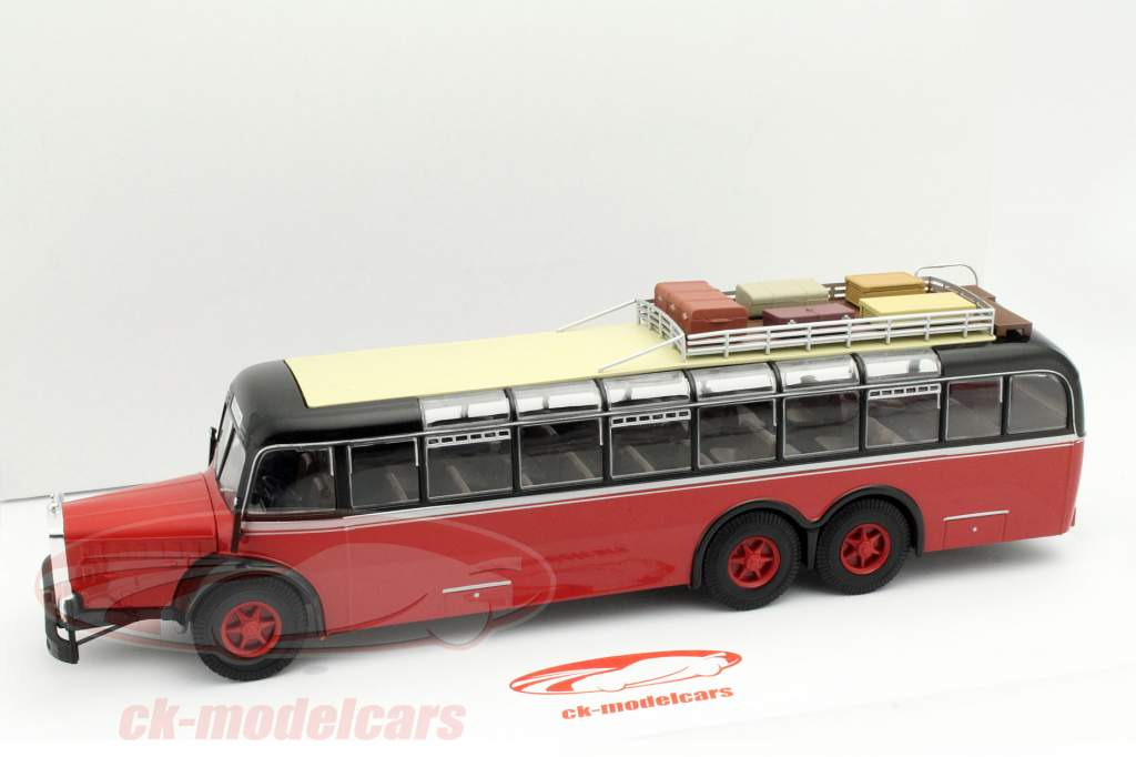 Mercedes-Benz O 1000 red / black 2. choice 1:43 Altaya