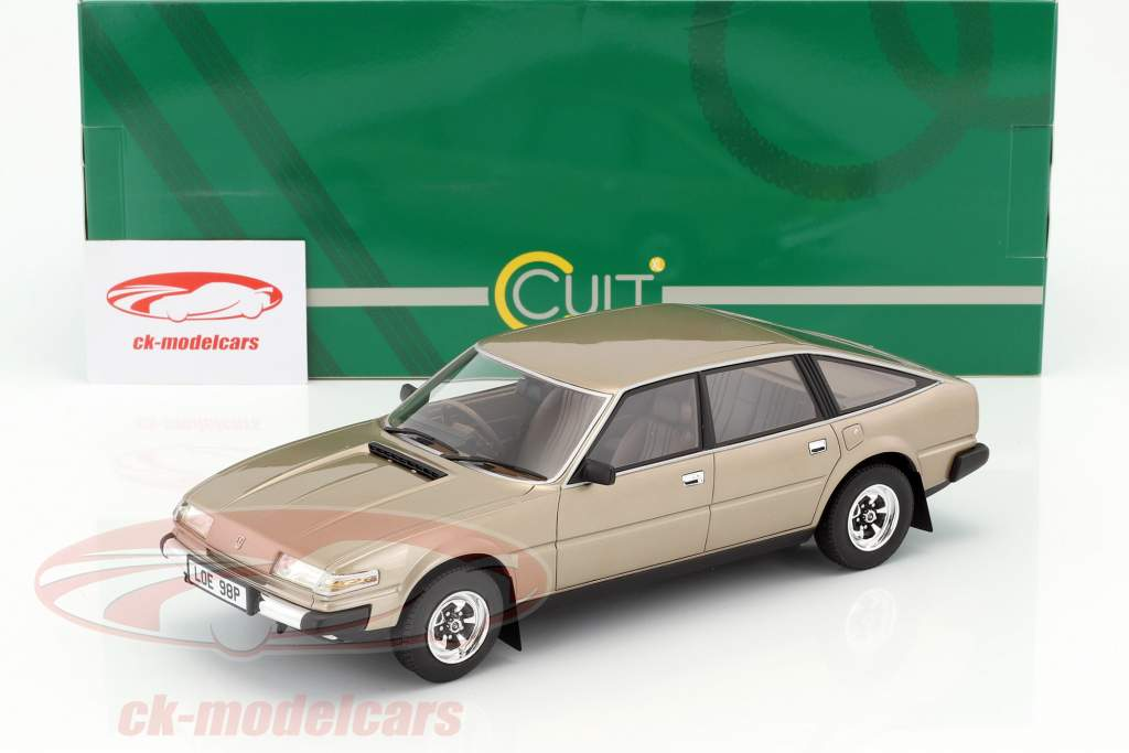 Rover 3500 SD1 year 1977 gold metallic 1:18 Cult Scale