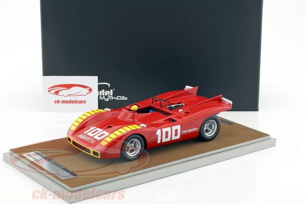 Abarth 2000 SP #100 Enna GP 1970 Merzario 1:18 Tecnomodel
