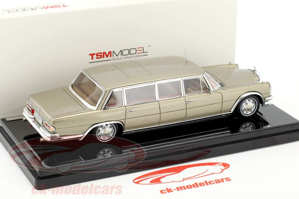 Mercedes-Benz 600 Pullmann Construction year 1964 King Baudouin of belgium 1:43 TrueScale