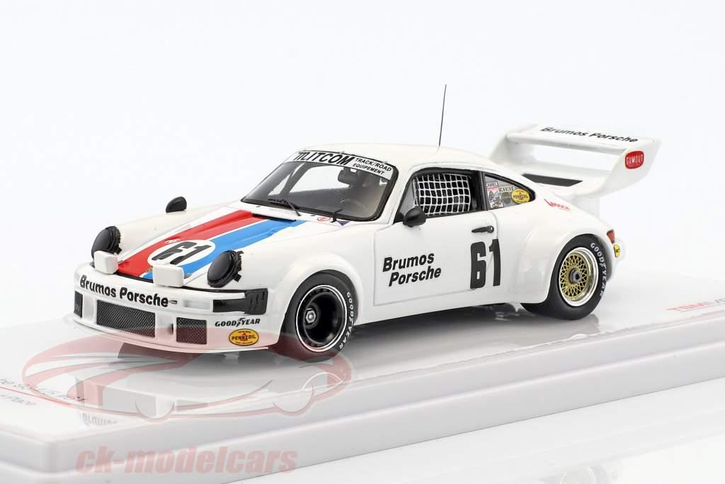 Porsche 934/5 #61 12h Sebring 1977 Brumos Porsche 1:43 TrueScale