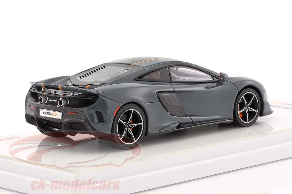 McLaren 675LT année 2015 chicane gris 1:43 TrueScale