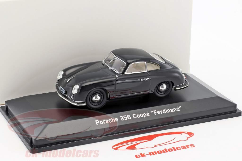 Porsche 356 coupe Ferdinand year 1950 black 1:43 LuckyDieCast