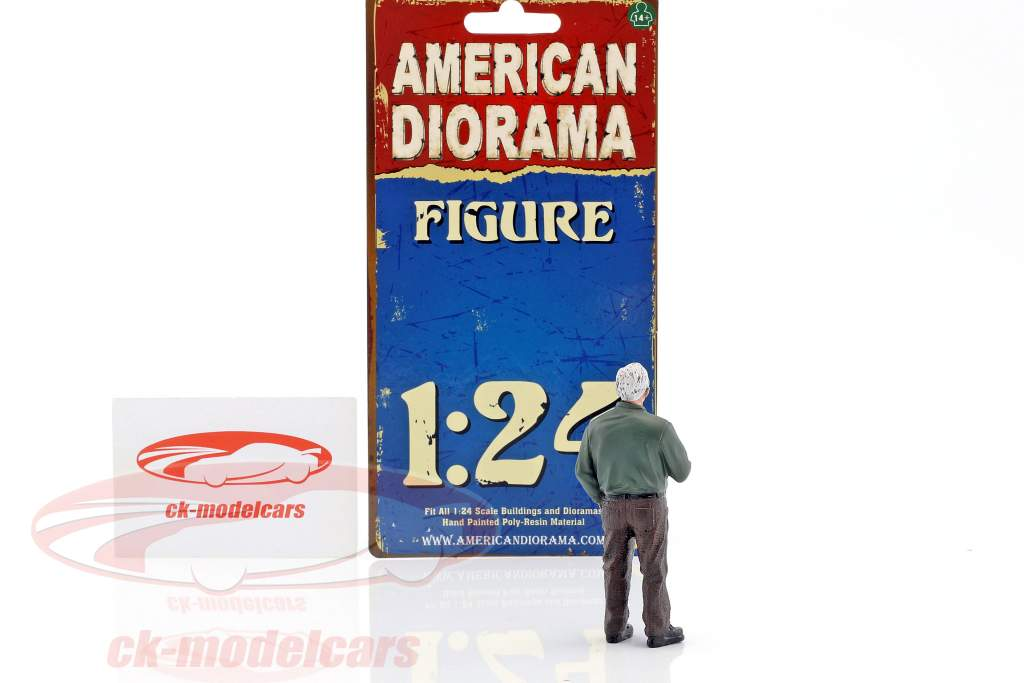 Jim The Boss 1:24 American Diorama