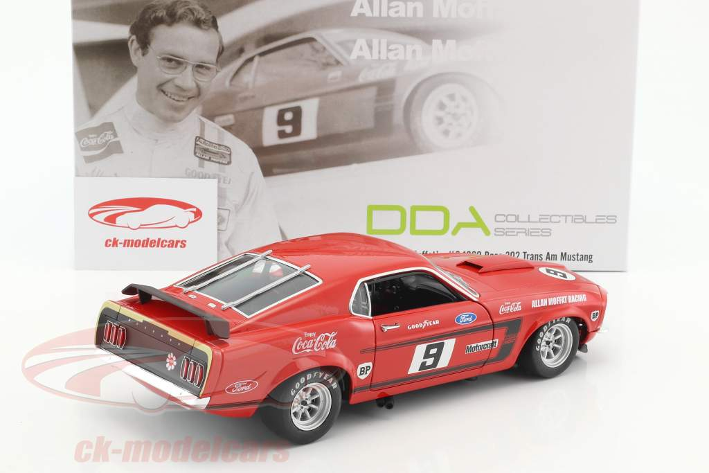 Ford Mustang Boss 302 Trans Am 1969 Alan Moffat 1:18 GMP