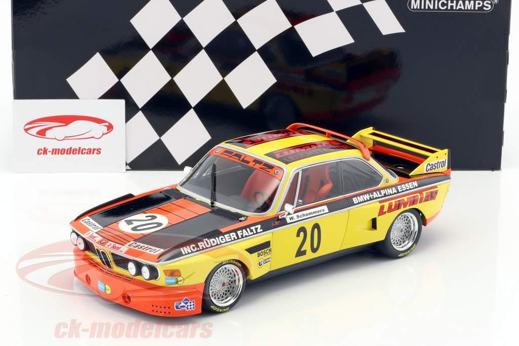 BMW 3.0 CSL #20 Norisring Trophäe 1974 Werner Schommers 1:18 Minichamps