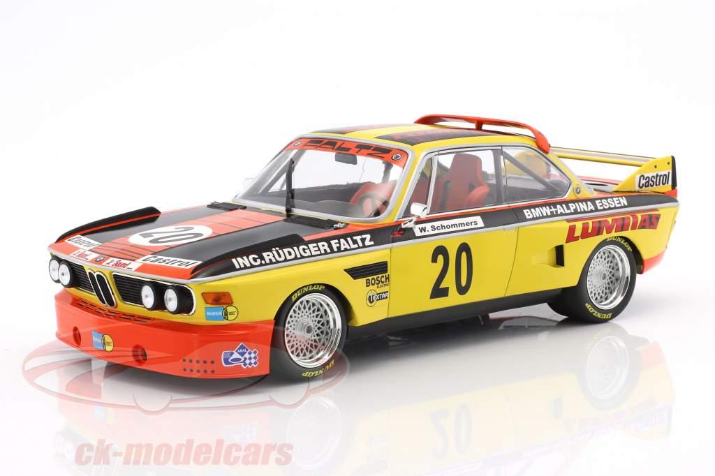 BMW 3.0 CSL #20 Norisring trophée 1974 Werner Schommers 1:18 Minichamps
