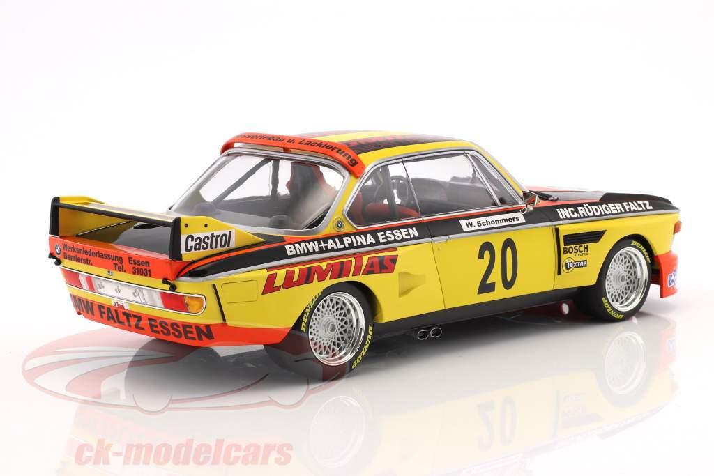 BMW 3.0 CSL #20 Norisring trophy 1974 Werner Schommers 1:18 Minichamps