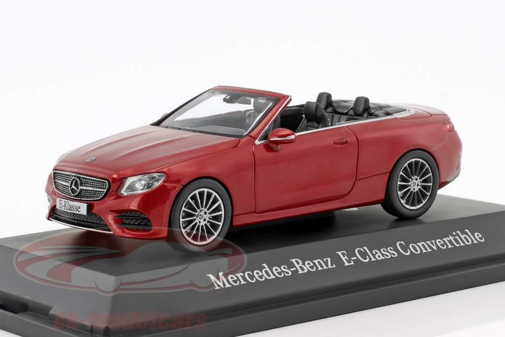 Mercedes-Benz E-Klasse cabriolet A238 hyazinth rosso metallico 1:43 iScale