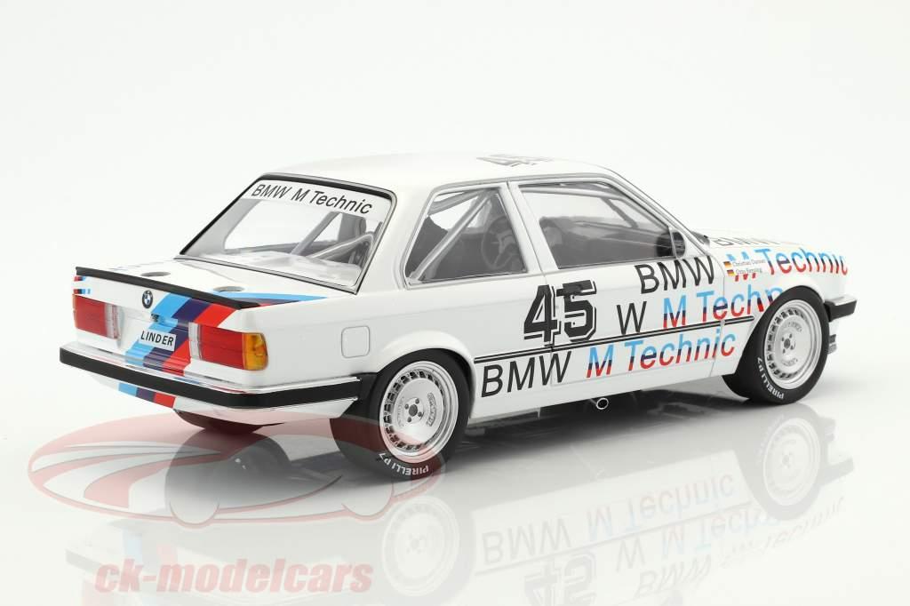 BMW 325i Linder Rennsport #45 ETCC 1986 Danner, Rensing 1:18 Minichamps