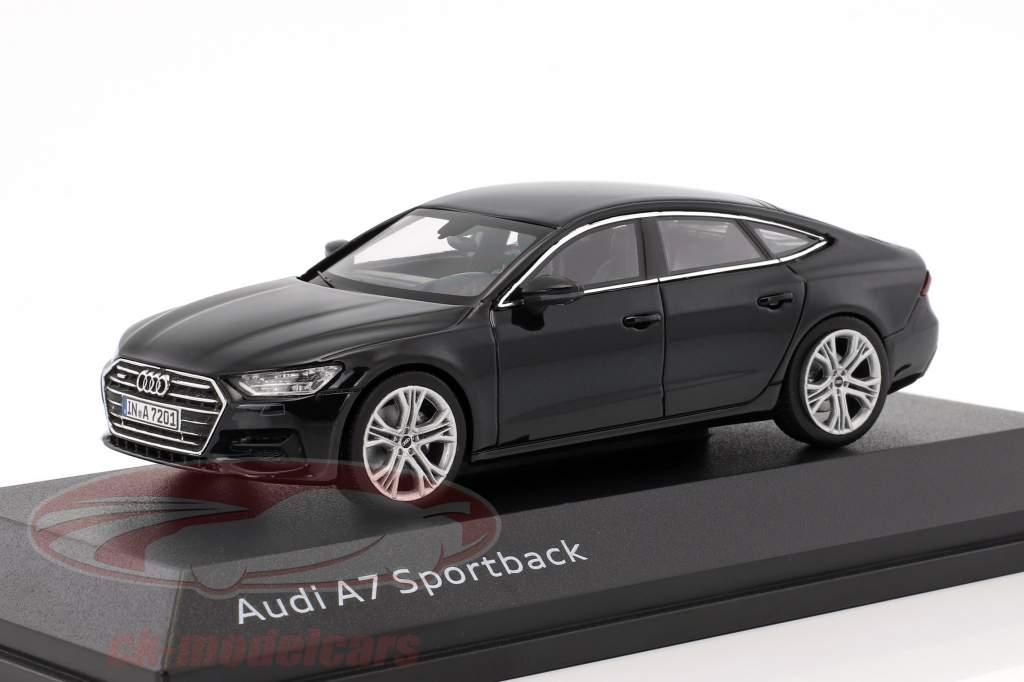 Audi A7 Sportback mito nero 1:43 iScale