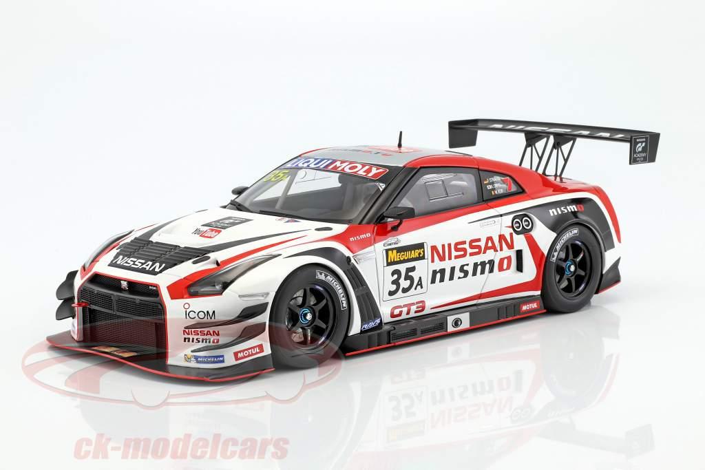 Nissan GT-R Nismo GT3 #35A Winner 12h Bathurst 2015 Strauss, Chiyo, Reip 1:18 AUTOart
