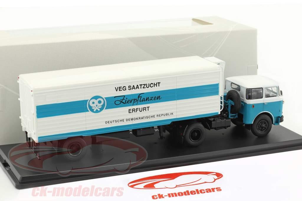 LIAZ 706 MTTN VEG Saatzucht white / blue 1:43 Premium ClassiXXs
