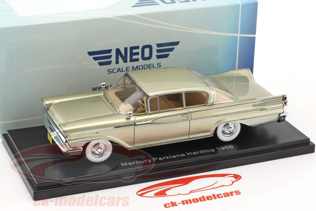 Mercury Park Lane Hardtop year 1959 beige metallic 1:43 Neo