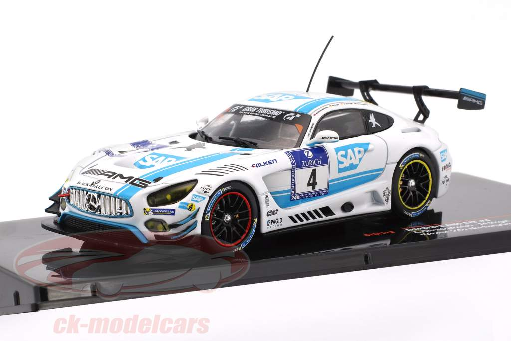Mercedes-Benz AMG GT3 Team Black Falcon #4 winner 24h Nürburgring 2016 1:43 Ixo