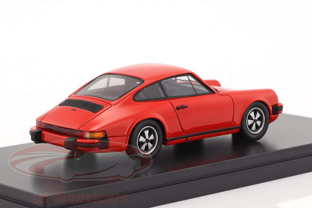 Porsche 911 coupe anno di costruzione 1975 indiano rosso 1:43 Schuco