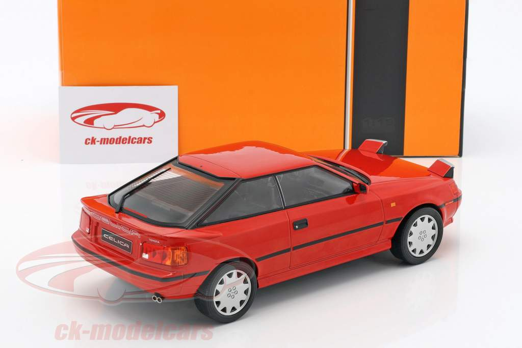 Toyota Celica GT4 ST165 year 1988 red 1:18 Ixo