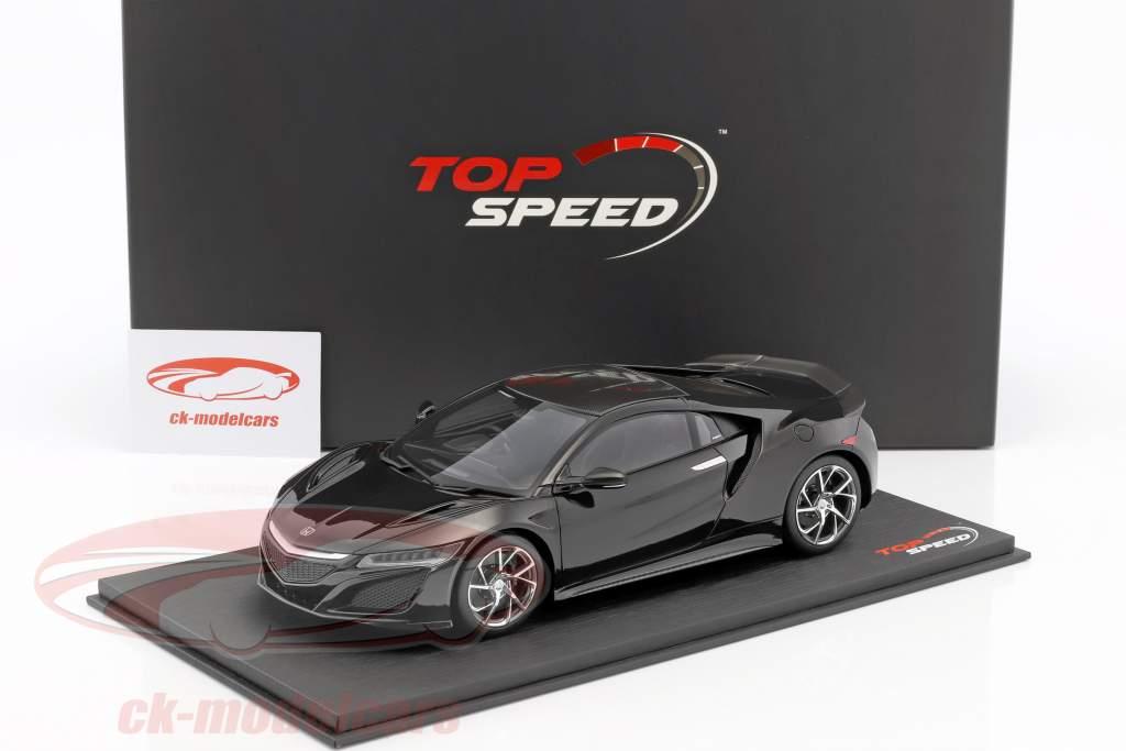 Honda NSX RHD berlina schwarz 1:18 True Scale