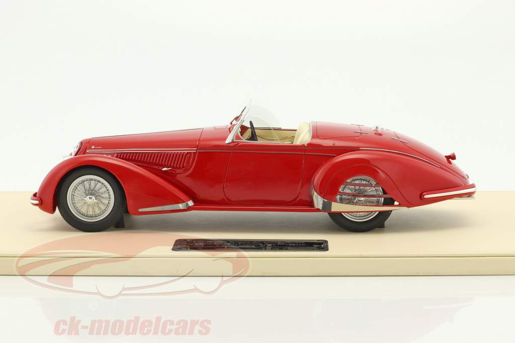 Alfa Romeo 8C 2900B Spider Carrozzeria Touring Superleggera Baujahr 1938 rot 1:18 True Scale