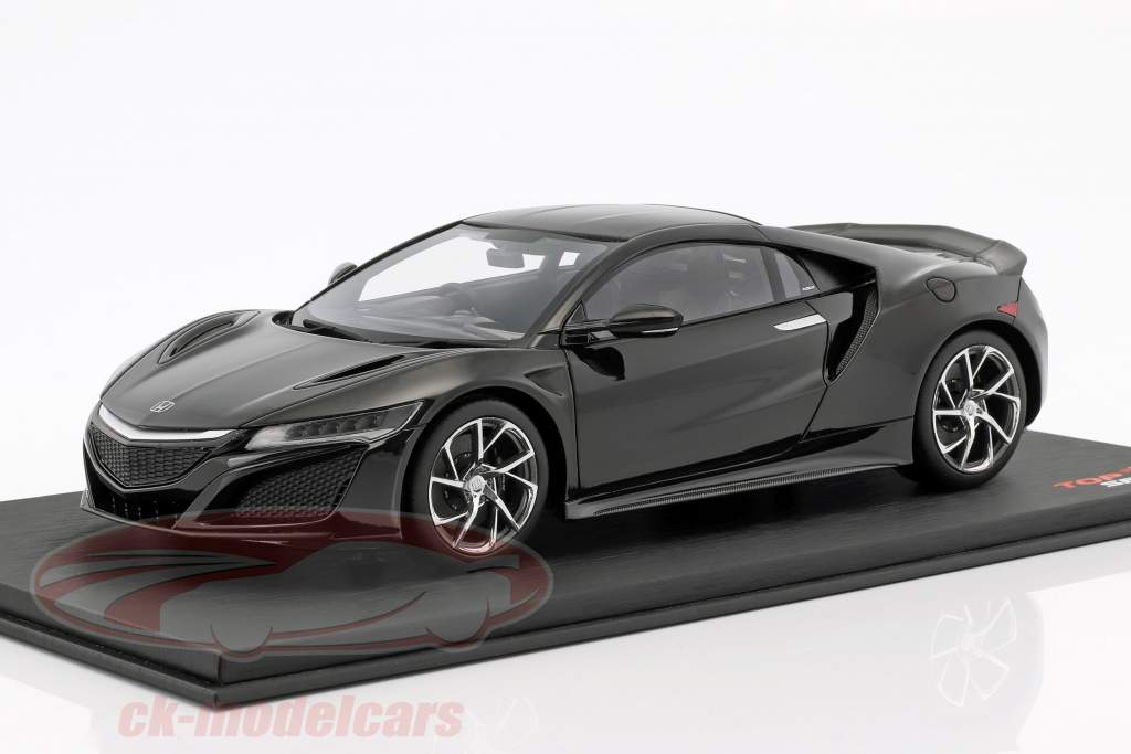 Honda NSX RHD berlina noir 1:18 True Scale