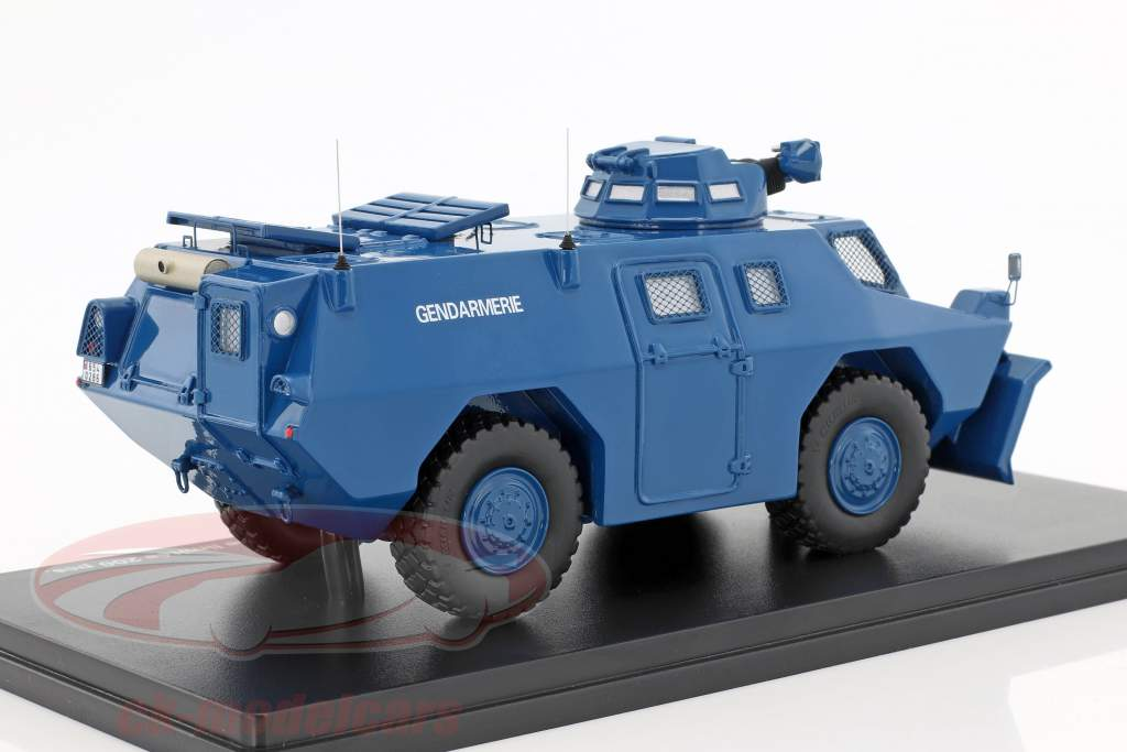 Berliet VXB 170 VBRG versione Lame gendarmeria blu 1:43 Momaco