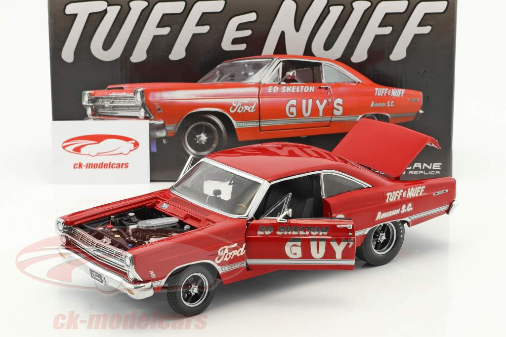 Ford Fairlane 427r Ed Skelton's Tuff e Nuff year 1967 red 1:18 GMP