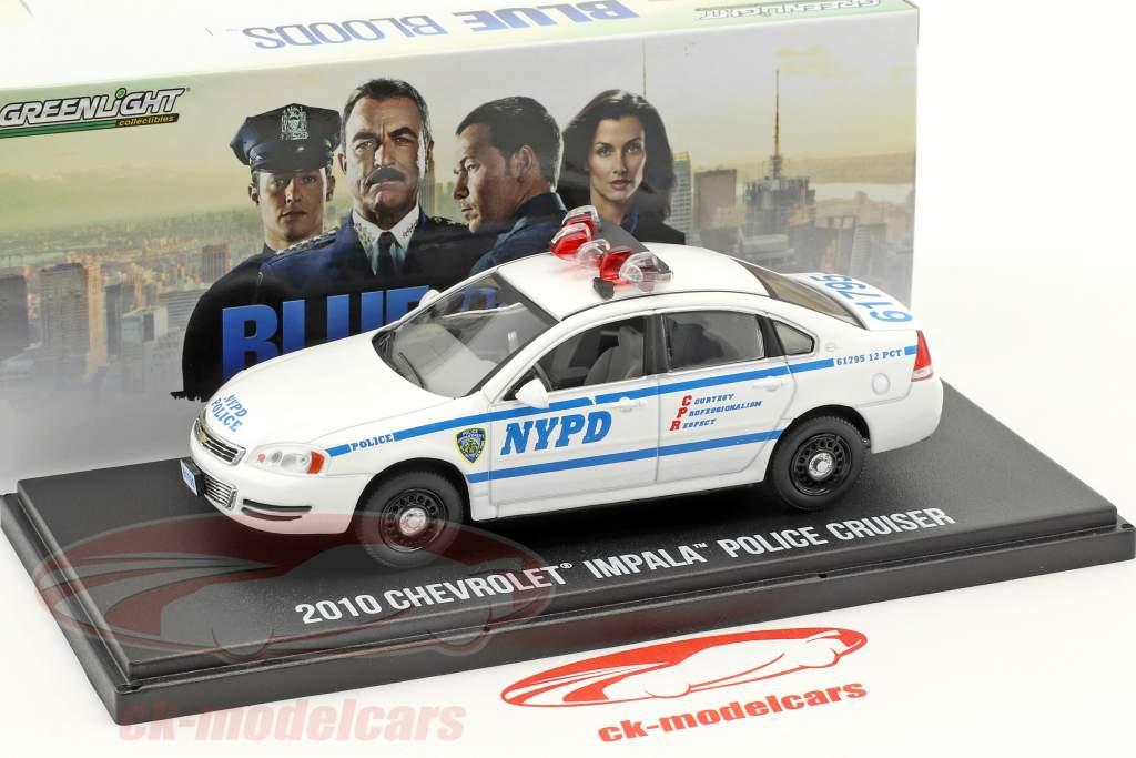 ck modelcars 86509 chevrolet impala police cruiser nypd ann e de construction 2010 s rie tv. Black Bedroom Furniture Sets. Home Design Ideas