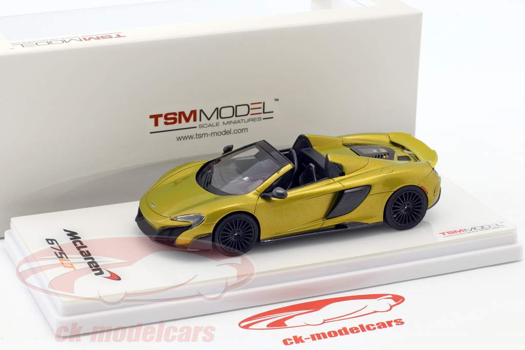 McLaren 675LT Spider or 1:43 TrueScale