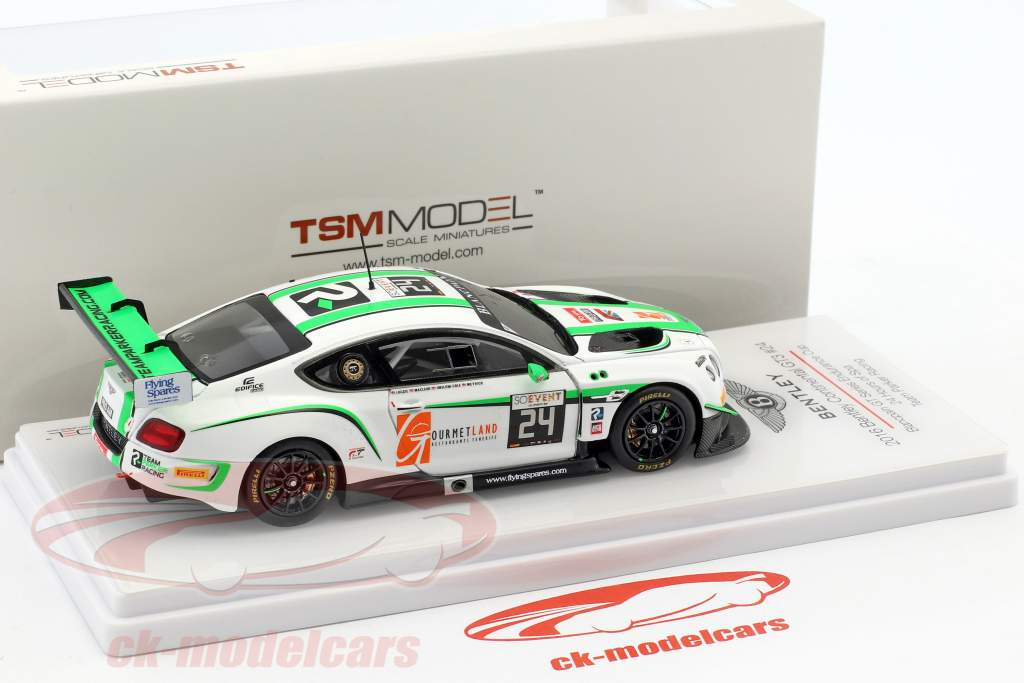 Bentley Continental GT3 #24 24h Spa 2016 Loggie, MacLeod, Meyrick, Cole 1:43 TrueScale