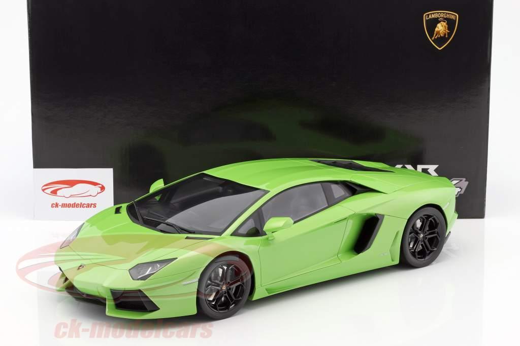 Lamborghini Aventador LP 700 4 Green 1:12 GT SPIRIT