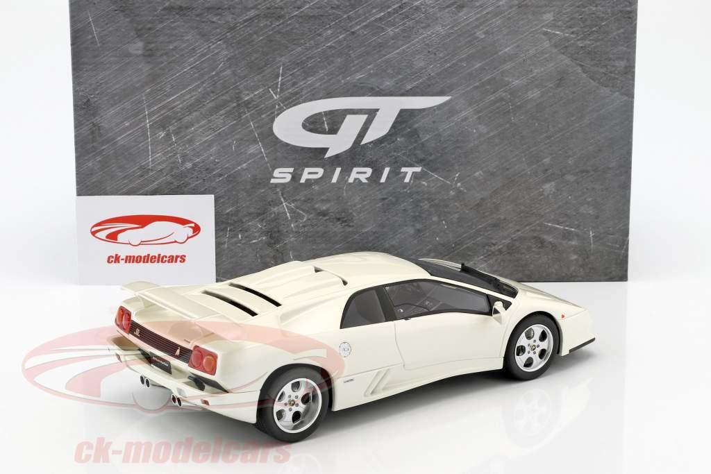 Lamborghini Diablo SE30 Jota Baujahr 1994 weiß 1:18 GT-SPIRIT