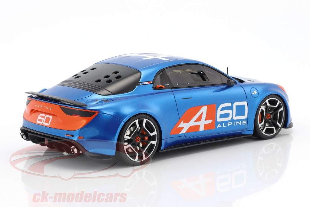 Renault Alpine A60 celebrazione 24h LeMans 2016 blu 1:18 OttOmobile