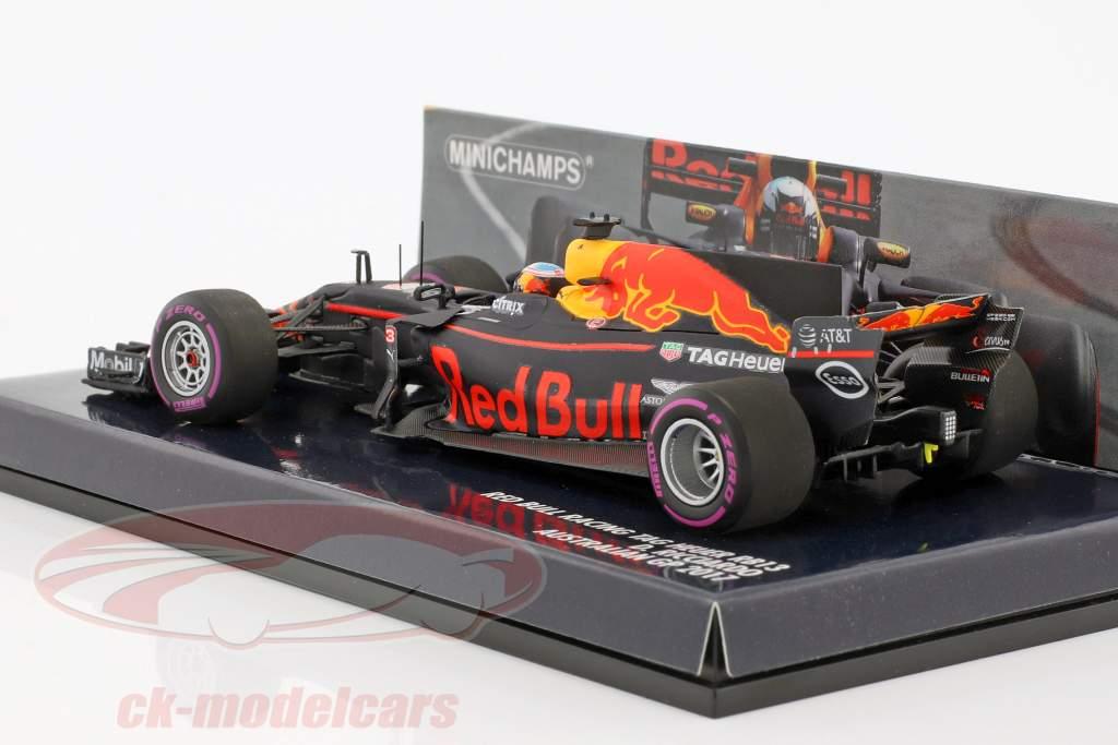 Daniel Ricciardo Red Bull RB13 #3 Australia GP formula 1 2017 1:43 Minichamps