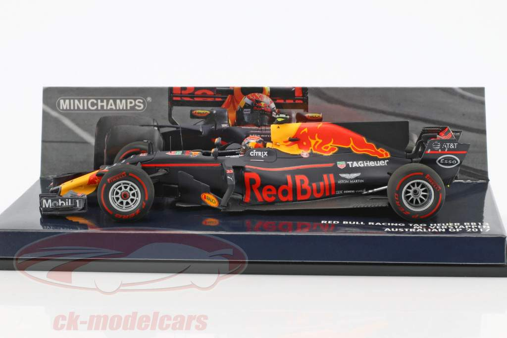 Max Verstappen Red Bull RB13 #33 Australian GP formula 1 2017 1:43 Minichamps