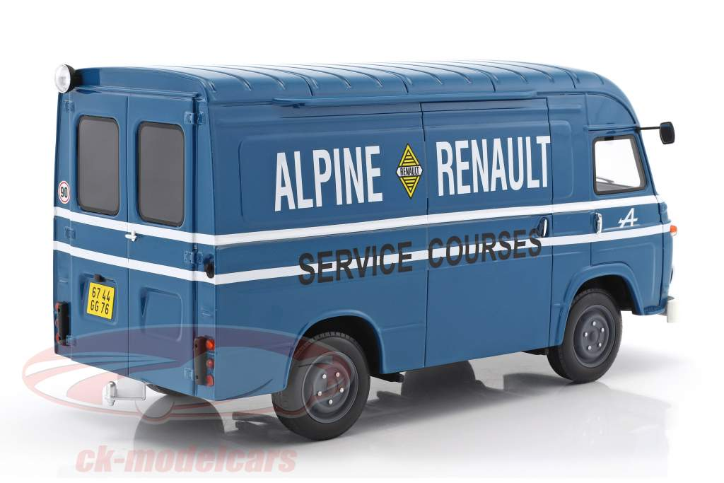 Saviem SB2 Van Assitance Courses Alpine 24h LeMans bleu 1:18 OttOmobile