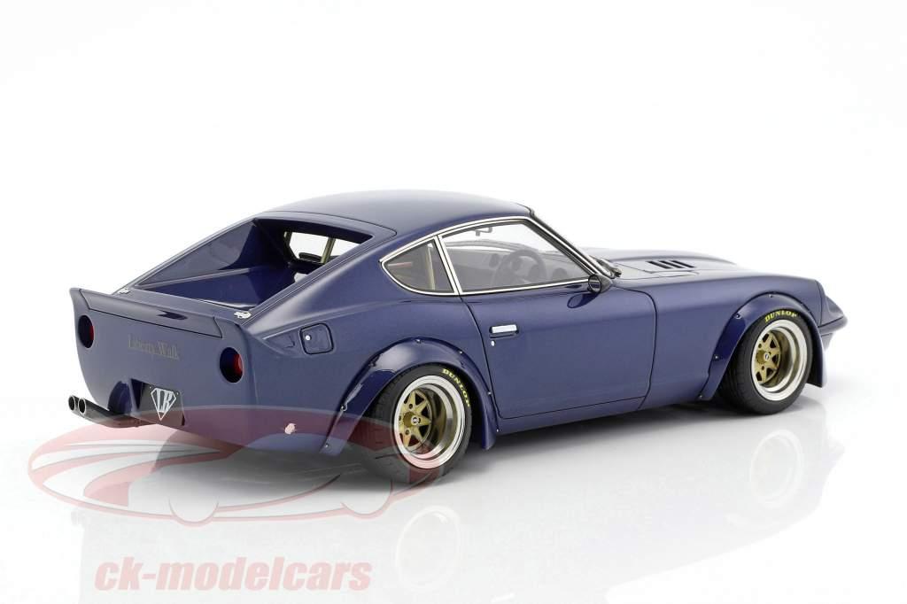 LB-Works Fairlady Z (S30) blue 1:18 Ignition Model