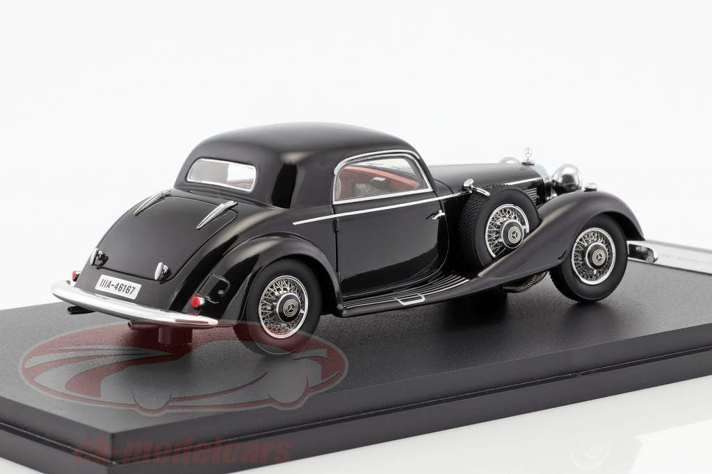 Mercedes-Benz 540K Sport coupe year 1936 black 1:43 Neo