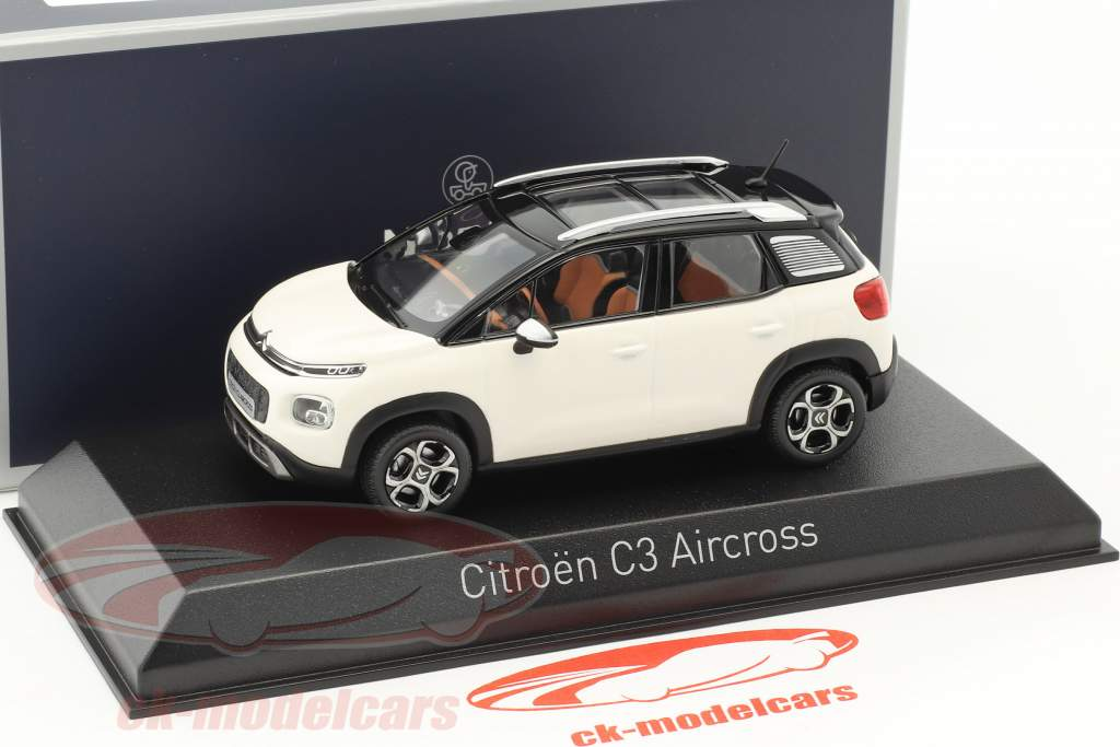 Citroen C3 Aircross year 2017 white / black 1:43 Norev