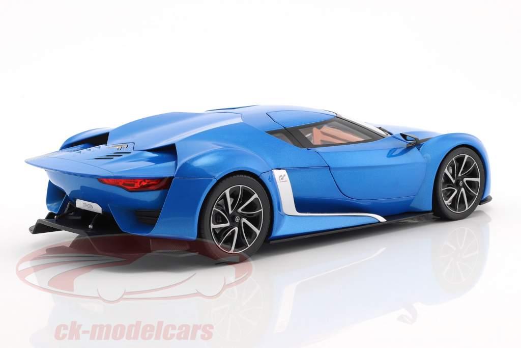 Citroen GT year 2008 blue metallic 1:18 Norev