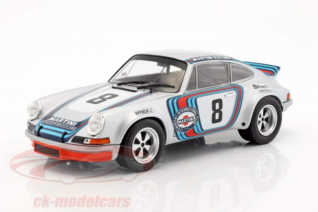 Porsche 911 RSR Martini Racing #8 Winner Targa Florio 1973 Müller, van Lennep 1:18 Solido