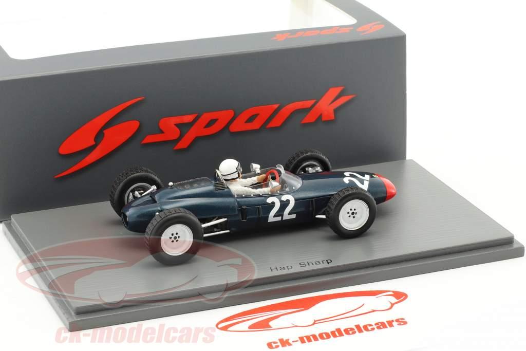 Hap Sharp Lotus 24 #22 Mexiko GP Formel 1 1963 1:43 Spark
