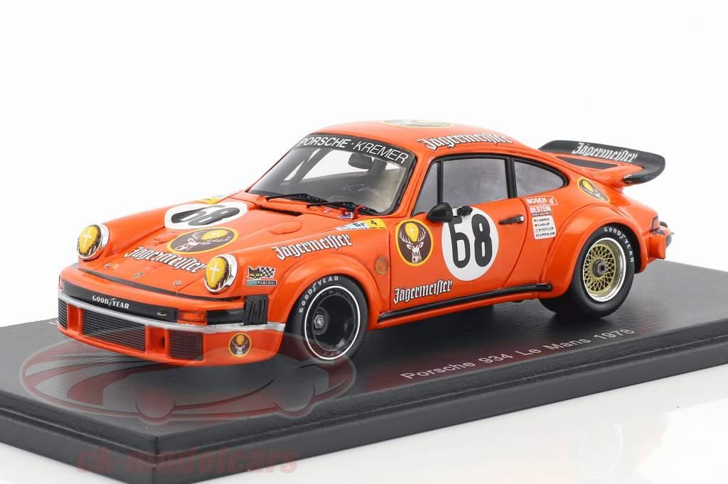 Porsche 934 #68 24h LeMans 1978 Dören, Holup, Poulain, Feitler 1:43 Spark
