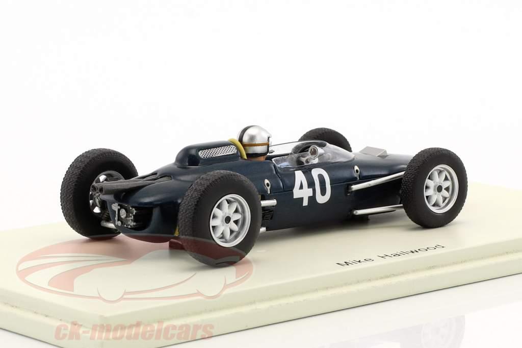 Mike Hailwood Lola Mk4 #40 Italia GP formula 1 1963 1:43 Spark