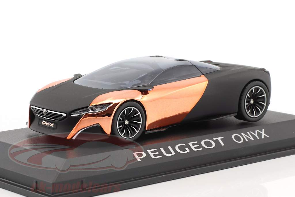 Peugeot Concept Car Onyx salon de Paris 2012 matt black / copper 1:43 Norev