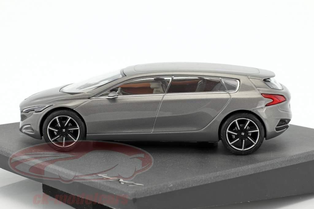 Peugeot HX1 silver metallic 1:43 Norev