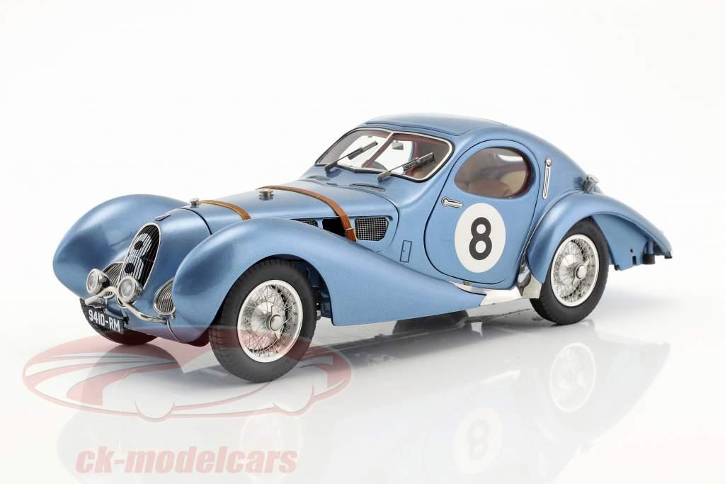 Talbot Lago coupe T150 C-SS #8 24h LeMans 1939 De Massa, Mahé 1:18 CMC